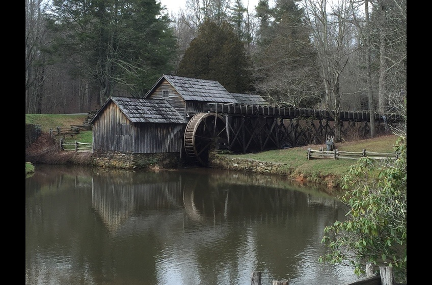 Mabry Mill - one of the most photographed sites on the Parkway